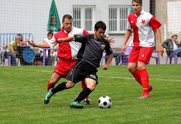 Po pomalejším rozjezdu do divize se fotbalisté Orlové konečně rozjeli.