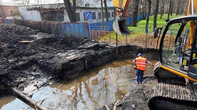 Havárie na vodovodním řadu v Bohumíně