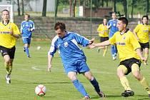 Orlovským fotbalistům se po příchodu trenéra Kročila začalo dařit.
