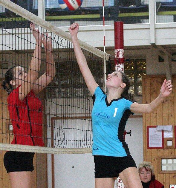 Volejbalové juniorky Karviné si uchovaly prvoligovou příslušnost.