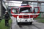 Profesionální hasiči se zdrželi u skutečného zásahu, proto přijeli první havířovští dobráci.