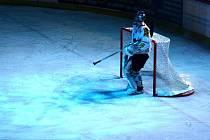 Světelné efekty dělají atmosféru hokejového utkání atraktivnější