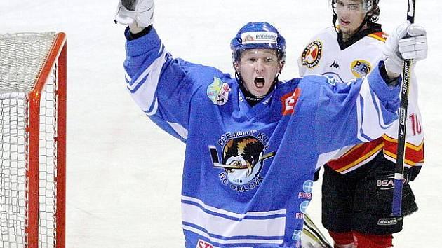 Orlovští hokejisté se v derby nad Frýdkem-Místkem znovu radovali. Tentokrát ale až po nájezdech.
