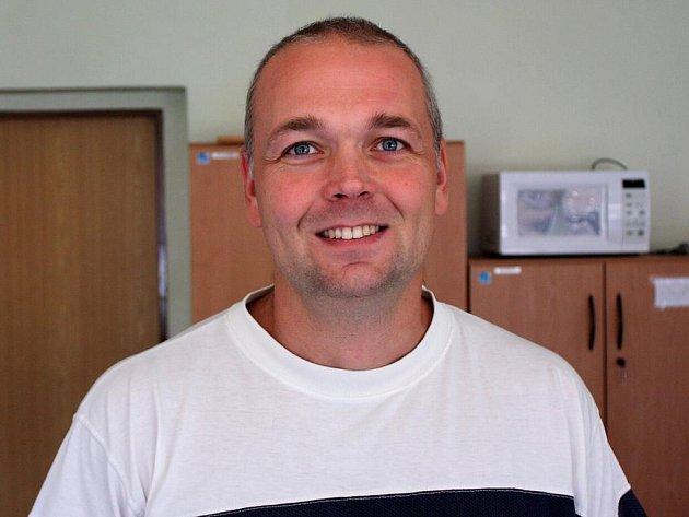 Koordinátor karvinského centra Jiří Byčkov