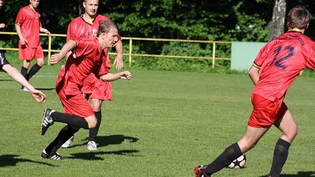 Začátek jara vyšel fotbalistům Albrechtic na výbornou.