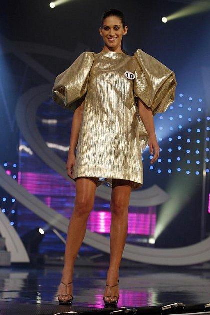Miss České republiky 2009 Aneta Vignerová.