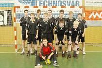 Studenti Střední průmyslové školy Karviná jsou mistry Moravy v házené.