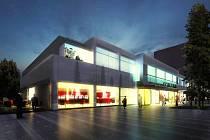Navrhovaná podoba kina Centrum