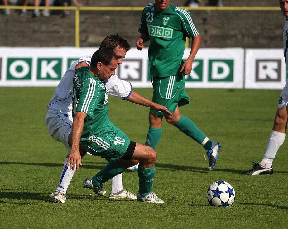 Radek Slončík si zahrál poločas.