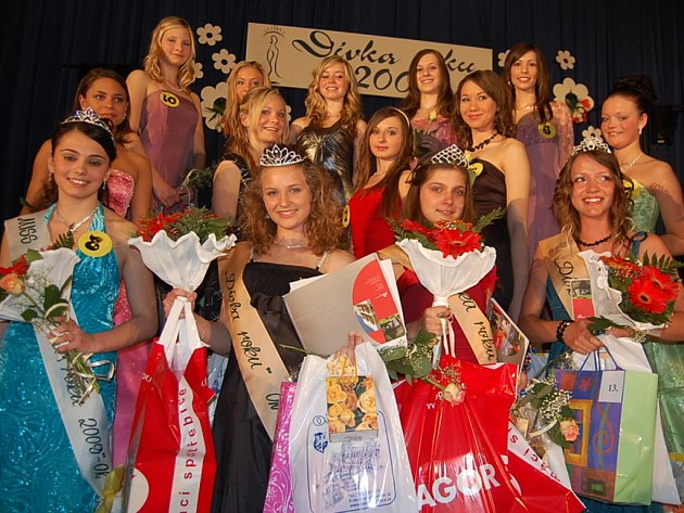 Oblastní kolo soutěže Dívka roku 2009