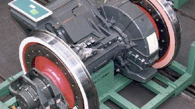 Dvojkolí pro lokomotivu DJ1 od firmy Siemens. Jedno z nejtěžších dvojkolí vyráběných ve firmě Bonatrans. Dvojkolí je s brzdovými kotouči na kole a s pohonem s přenosem hnací síly na nápravu.