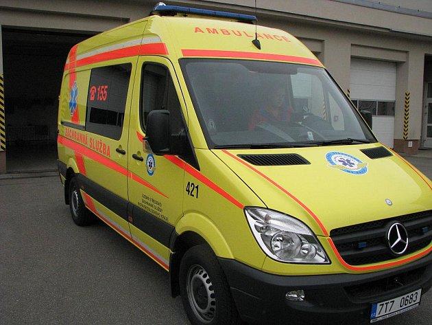 Sanitka záchranné služby