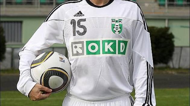 Poslední klubové foto Radka Slončíka v hráčské roli. V MFK OKD Karviná.