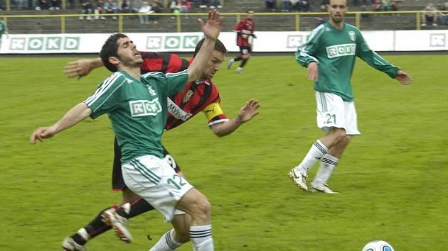 Fotbalisté Karviné sehráli přípravu s Hlučínem.