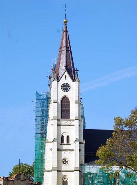 Kostel Narození Panny Marie bude mít novou věž