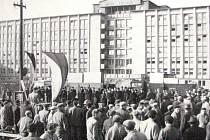 První stěhování v prosinci 1953.