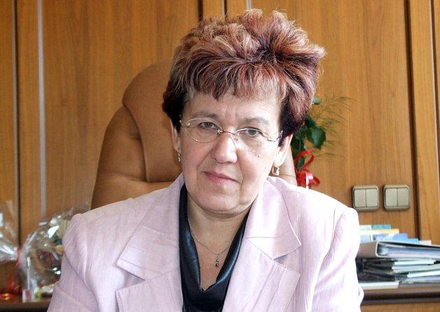 Poslankyně Milada Halíková