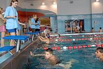 Nejmladší účastnici soutěže Plave celé město v Orlové bylo 5 let.