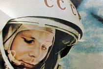 První kosmonaut ve vesmíru Jurij Gagarin.