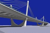 Takto by měl vypadat nový most v Bohumíně.