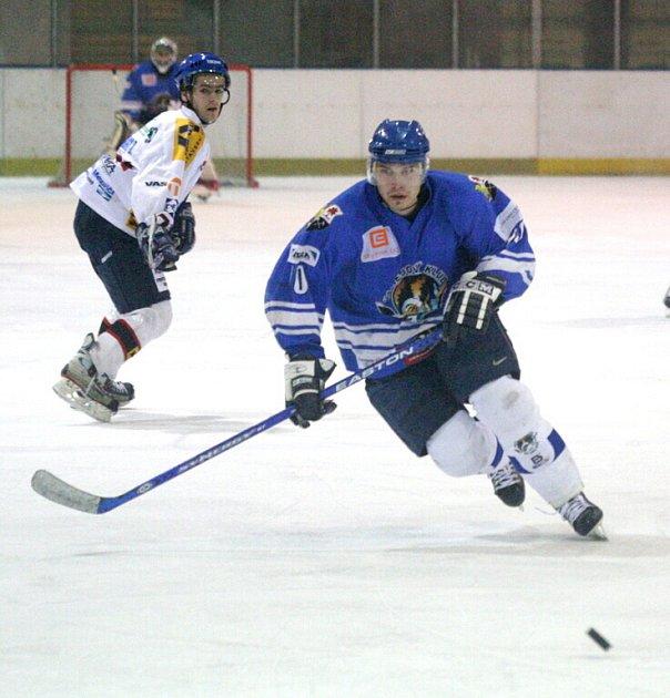 Orlovští hokejisté si na vlastním ledě připsali další výhru, i když tentokrát jen v prodloužení.