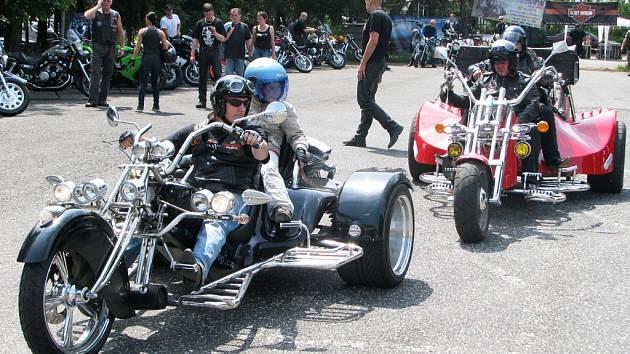 Na své si při setkání strojů značky Harley–Davidson přišli motorkáři i všichni přihlížející.