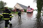 Záplavy postihly také Bohumín