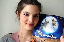 Herečka Kristýna Maléřová, hlavní postava filmu Absurdistán.