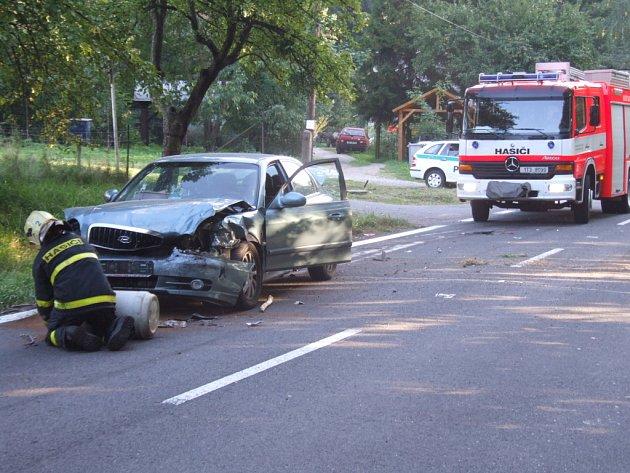 Místo havárie v Těrlicku