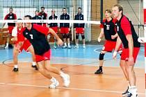 Volejbalisté Slavie jdou do play-off z prvního místa.