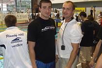 Ondřej Broda (vlevo) byl se svým výkonem na prsařské padesátce nebývale spokojen.