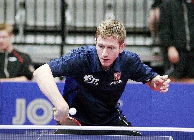 Junior Pavel Širůček na evropském šampionátu v Praze na medaili bohužel nedosáhl.
