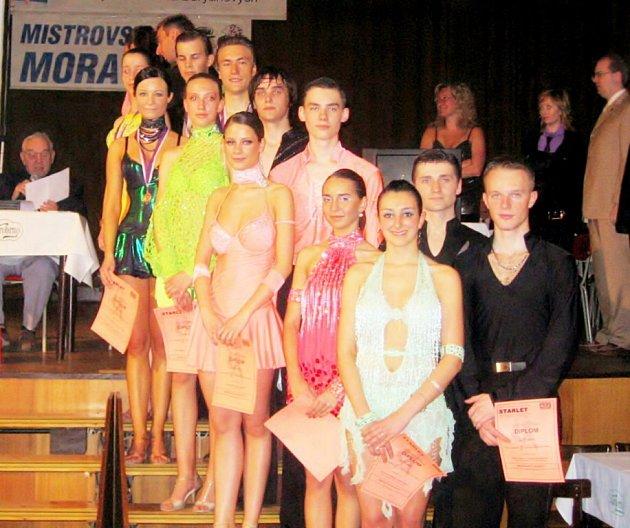 Havířovským tanečníkům se na jihu Moravy dařilo.