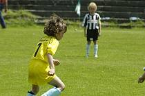 Fotbalové přípravky sehrají modelové utkání.
