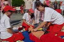 Červený kříž se prezentoval v Karviné