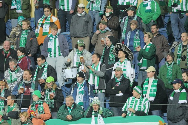 Z utkání SFC Opava s Bohemians Praha
