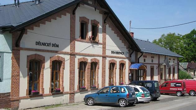 Rekonstruovaný Dělnický dům PZKO v Horní Suché