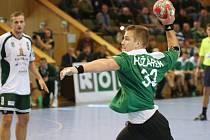 Roman Požárek odehrál dobré utkání, bohužel v závěru se dopustil zbytečného faulu a Baník prohrál.