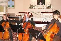 Novoroční koncert umělecké školy