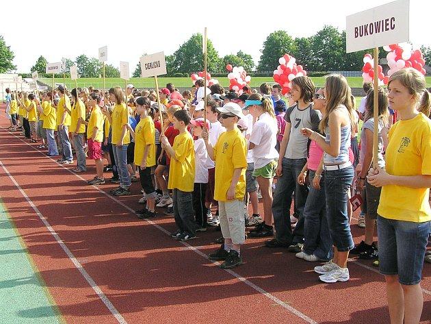 Školáci z Českého Těšína a Albrechtic dobře reprezentovali na olympiádě v Třinci.