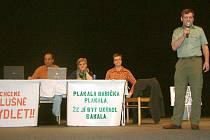 Na setkání představitelů Sdružení BytyOKD.cz s Orlovany se o problematice živě diskutovalo.