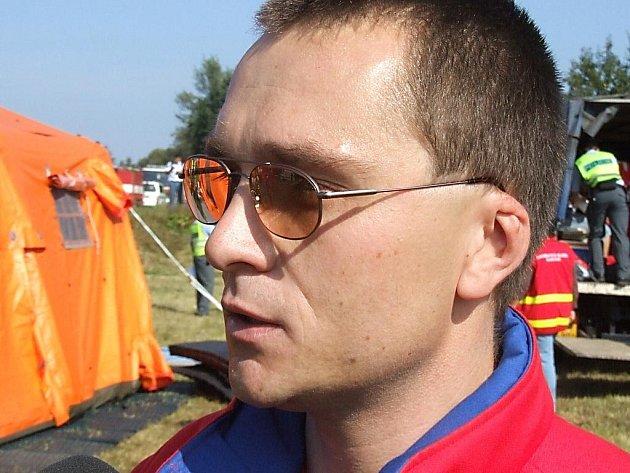Mluvčí Záchranné služby Moravskoslezského kraje Lukáš Humpl