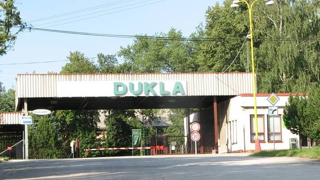 Vrátnice Dukly ještě v době provozu, v červenci 2008