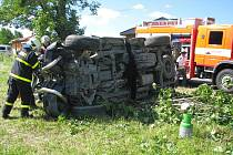 Vážná nehoda v Šenově