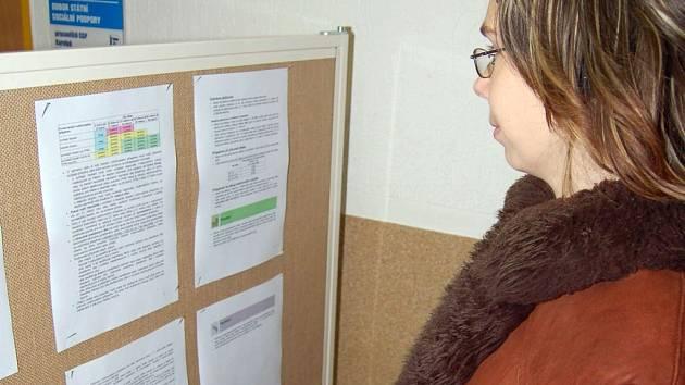 Hned první pracovní dny nového roku dávali lidé své doklady do pořádku.