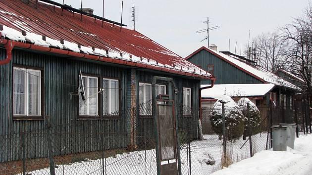 Finské domky v Horní Suché