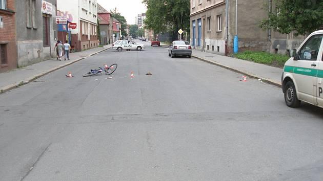 Nehoda v Bohumíně