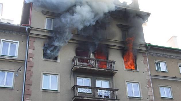 Požár v Havířově, dílo sebevraha