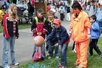 Na návštěvníky Bambiriády čeká spousta soutěží a atrakcí, kterých využijí hlavně děti.