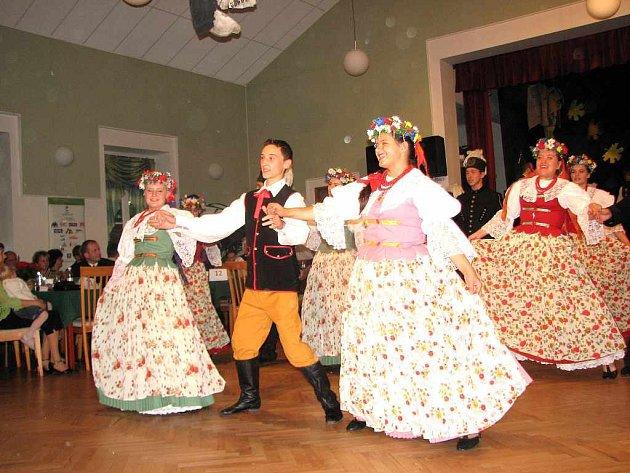 Fedrování s folklorem se konalo v Horní Suché.